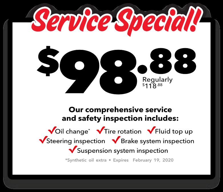 Service Special!