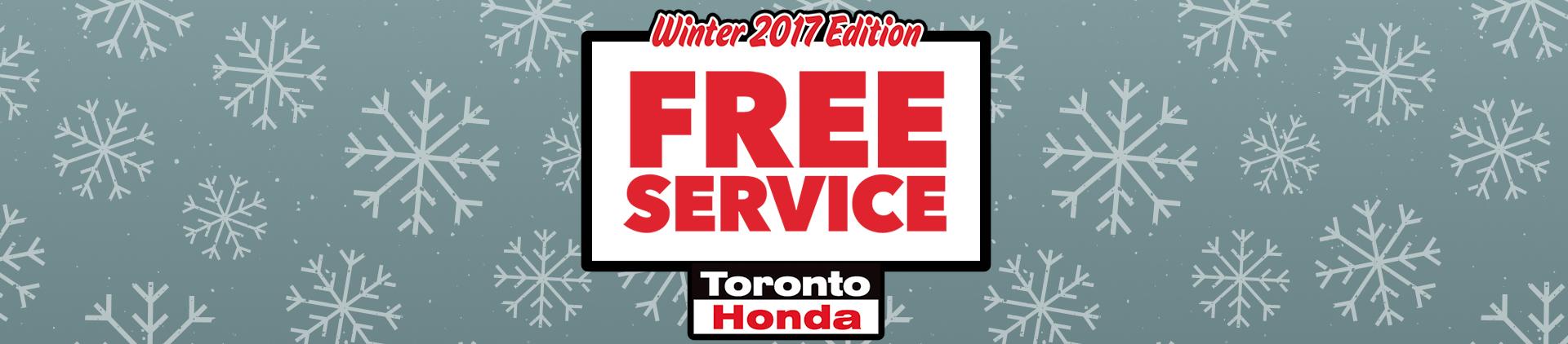 2017 Winter Free Service