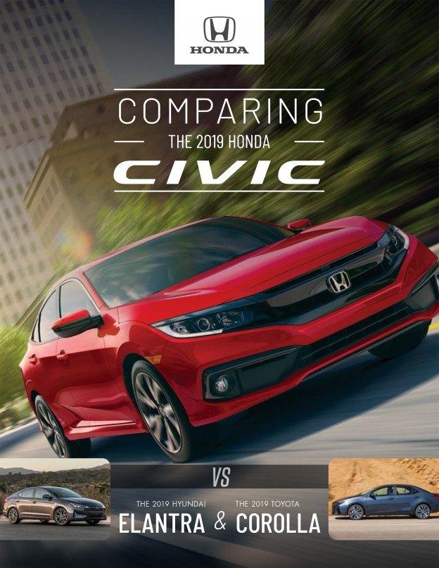 2019 Honda Civic Sport vs 2019 Hyundai Elantra | Toronto Honda