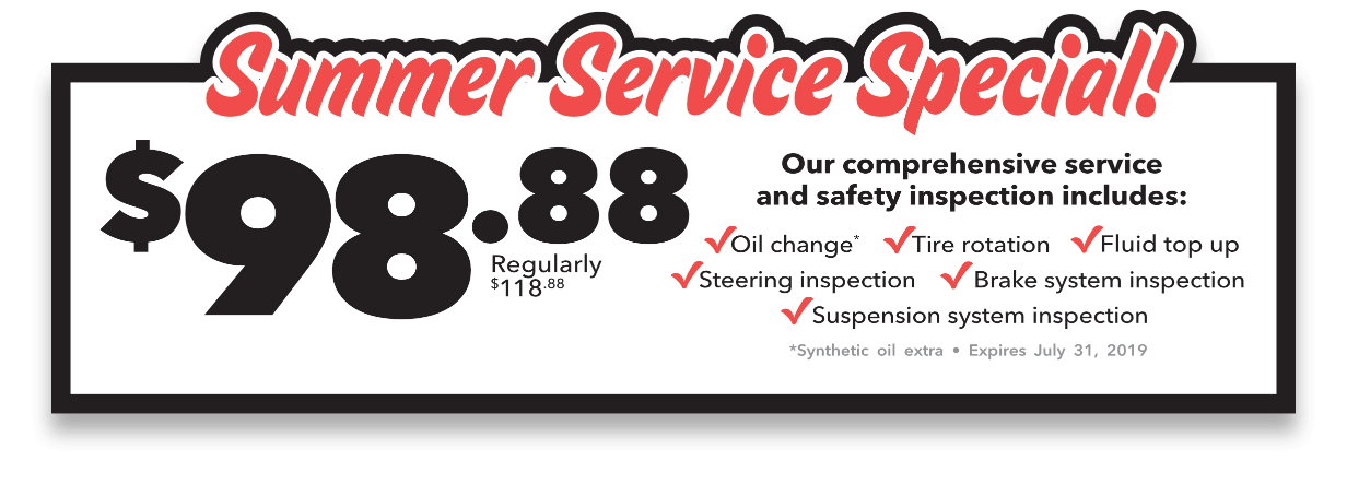 Summer Service Special!
