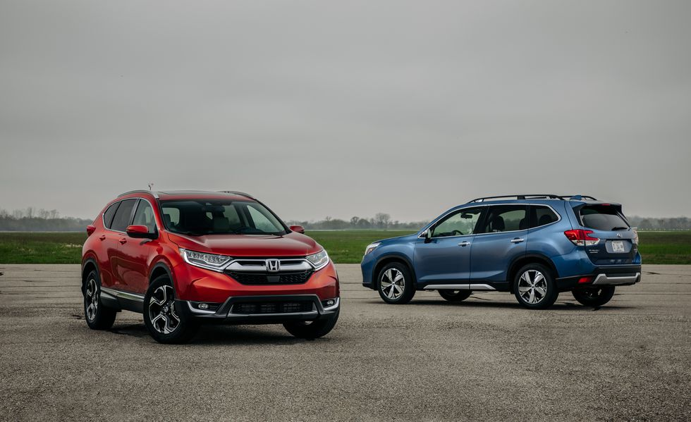 2019 Honda CR-V vs  2019 Subaru Forester: Which Is the